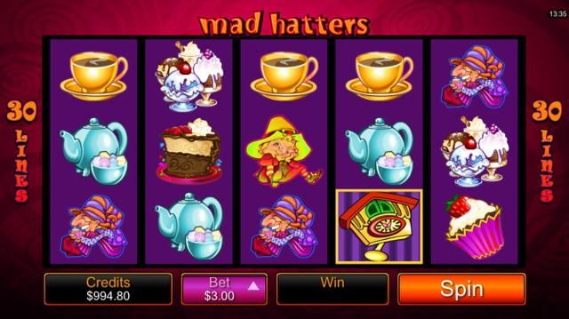 รีวิวสล็อต Madd Hatters เกมคลาสิกจาก Alice In Wonderland